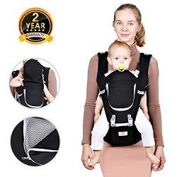 Baby Hip Seat Belt Carrier – Safety Certified Front Facing Back Pain Relief Soft Carrier (Ergono ...