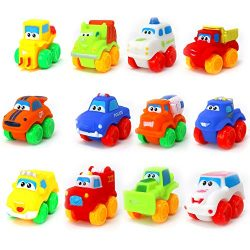 Big Mo's Toys Baby Cars – Soft Rubber Toy Vehicles for Babies and Toddlers – 1 ...
