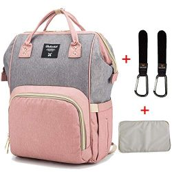 Diaper Bag Organizer Insulated Waterproof Travel Nappy Backpack Large Capacity Tote Shoulder Nap ...