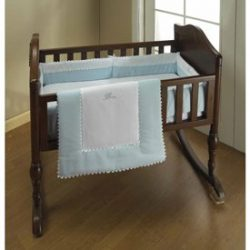Blue RIC Rac Cradle Bedding – Size:15×33