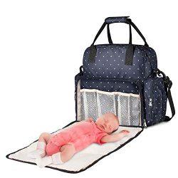 Large Diaper Bag, Chuntianli Baby Nappy Tote Bag Maternity Diaper Shoulder Bag Organizer Multi-F ...