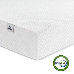 Dourxi Crib Mattress and Toddler Bed Mattress, Dual Sided Sleep System, Firm Side for Infants an ...