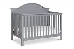Carter's by DaVinci Nolan 4-in-1 Convertible Crib, Grey
