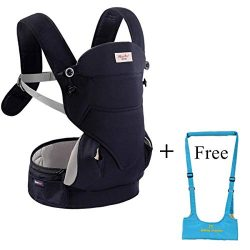 Ergonomic 4-in-1 Soft Baby Carrier,3D Breathable Air Mesh Newborn Infants Carrier Backpacks with ...