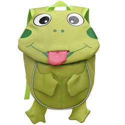 Cute Animal Frog Children Backpack with Chest Strap Leash Kids Nursery Knapsack