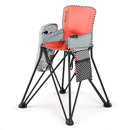 Summer Pop 'n Sit SE Highchair, Sweet Life Edition, Mango Melon Color – Portable High Chai ...