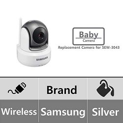 Samsung SEP-1003R BrightView Wireless 720p HD PTZ Video Baby Camera for SEW-3043W (Renewed)