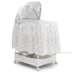 Simmons Kids Classic Silent Auto Gliding Bassinet, Emerson