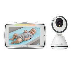 Summer Baby Pixel Video Baby Monitor with 5-inch Touchscreen and Remote Steering Camera – Baby V ...
