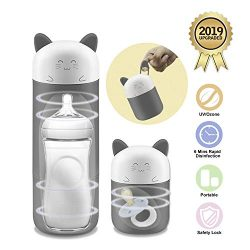 Outdoor Travel Portable Baby Feeding Bottle Sterilizer Sterilizing Tool for Baby Nursing Bottle  ...