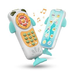 TUMAMA Baby Toys,Baby Mobile Phone Toy Early Educational Toys,Learning, Birthday Gift for 9, 12, ...