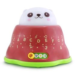 BEST LEARNING Whack & Learn Mole – Interactive Light-Up Baby Toddler Toys for Kids 6-3 ...