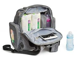 Baby Diaper Bag Backpack with Changing Pad – Waterproof Maternity Bag Organizer for Mom or ...