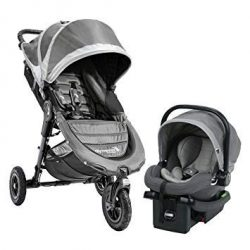 Baby Jogger City Mini GT Travel System – Steel Gray