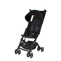 gb Pockit+ Lightweight Baby Stroller, Umbrella Stroller, Collapsible, Travel-Friendly, Folds int ...