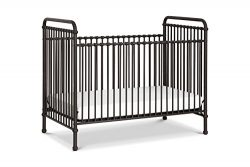 Million Dollar Baby Classic Abigail 3 in 1 Convertible Crib, Vintage Iron