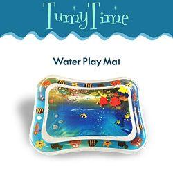 Baby Water Play Mat for Tummy Time – Inflatable Mats for Infants and Babies – Infant ...
