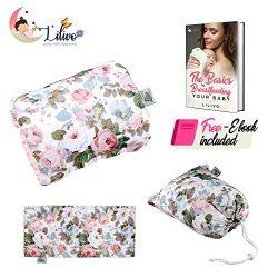 Infant Nursing Arm Pillow for Breastfeeding, Bottle Feeding Newborn Head Support Slip-On Cushion ...