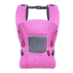 Baby Carrier Ergonomic Soft Breathable Air Flow Mesh Infant Carriers Comfortable Cool,for All Se ...
