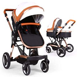 Bassinet Baby Stroller Reversible All Terrain – Cynebaby Vista City Select Strollers for I ...