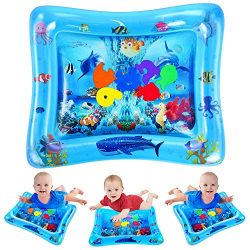 VATOS Tummy Time Water Mat, Baby Toys for 3 6 9 Months, The Perfect Tummy Time Toy for Infant Ea ...