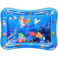 Amagoing Inflatable Tummy Time Water Mat Toy for Infants & Toddlers