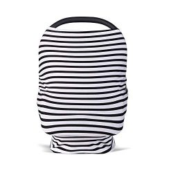 Baby Car Seat Covers for Newborns, Extra Soft and Stretchy Nursing Covers for Moms