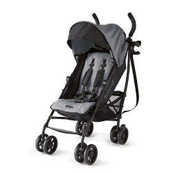 Summer 3Dlite+ Convenience Stroller, Matte Gray – Lightweight Umbrella Stroller with Overs ...