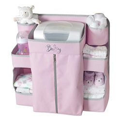 Llama Bella Premium Nursery Organizer and Baby Diaper Caddy | Hanging Diaper Organizer for Baby  ...