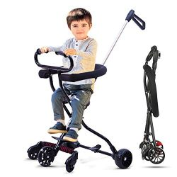 Beebeerun Lightweight Baby Stroller Baby Cart Portable Stroller with Brake and Safety System for ...