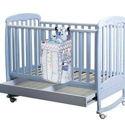 Hanging Diaper Caddy Organizer, Nursery Organizer, Playard Nursery Organizer, Baby Diaper Caddy, ...