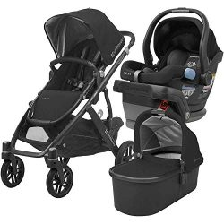 UPPAbaby Full-Size Vista Infant Baby Stroller & MESA Car Seat Bundle (Jake)