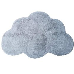 Habudda Cloud Shape Area Rugs for Kids Room Warm Soft 100% Cotton Luxury Plush Handmade Knitted  ...