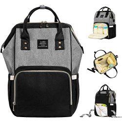 Landuo Diaper Bag Multi-Function Waterproof Travel Backpack Nappy Bags for Baby Care, Large Capa ...