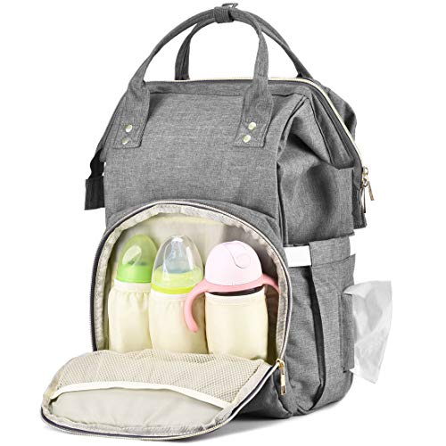 EFFORTLE Baby Diaper Bag Backpack Practical Storage Units Large Capacity Nappy Bags Stylish Diap ...
