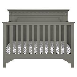 Baby Relax Teri 5-in-1 Convertible Crib, Graphite Gray