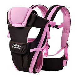 0-30 Months Baby Carrier, Ergonomic Kids Sling Backpack Pouch wrap Front Facing Multifunctional  ...