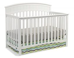 Graco Charleston Convertible Crib, White Easily Converts to Toddler Bed, Day Bed or Full Bed, 3  ...