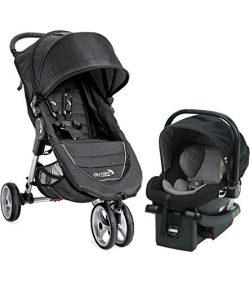Baby Jogger 2018 City Mini Travel System – Black/Gray