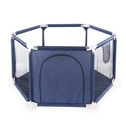 Baby Fence Playards Baby Playpens Washable Play Center Fence for Baby Kids Activity Centre Light ...
