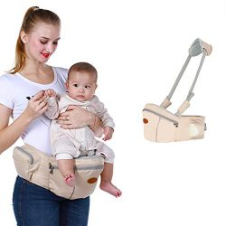 Baby Hip Seat Carrier Baby Waist Stool for Child Infant Toddler with Adjustable Strap Buckle Poc ...