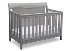 Delta Children New Haven 4-in-1 Convertible Baby Crib, Grey