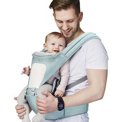 AFLUODN 2019 Updated Baby Carrier 3D Cool Air Mesh Ergonomic 360° Baby Carriers Front and Back t ...