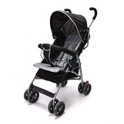 Wonder buggy Lightweight Stroller, Convenience Umbrella Baby Stroller with Front Bar Bumper, Rou ...