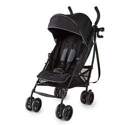 Summer 3Dlite+ Convenience Stroller, Matte Black – Lightweight Umbrella Stroller with Over ...