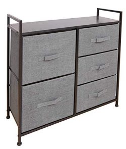 East Loft Storage Cube Dresser | Organizer for Closet, Nursery, Bathroom, Laundry or Bedroom | 5 ...