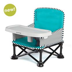 Summer Pop 'n Sit SE Booster Chair, Sweet Life Edition, Aqua Sugar Color – Booster S ...