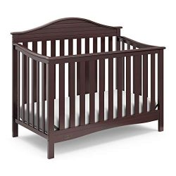 Graco Harbor Lights 4-in-1 Convertible Crib, Espresso, Easily Converts to Toddler Bed Day Bed or ...