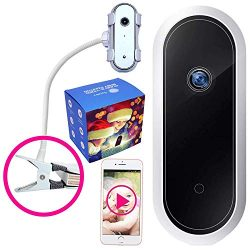 Smartphone Baby Monitor with App and Camera – Iphone, Phone, Android Compatible, Portable  ...