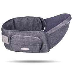 Baby Hip Seat Carrier,Baby Waist Seat with Adjustable Strap and Pocket,Baby Carrier Waist Stool  ...